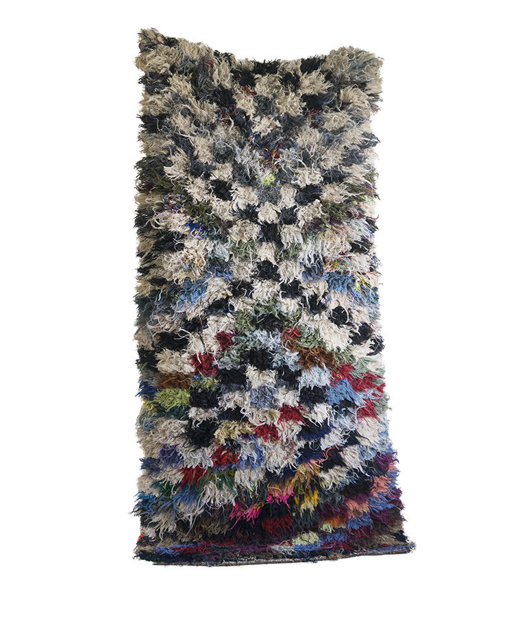 Boucherouite tapijt Lost Love