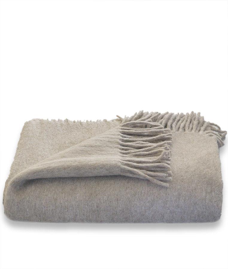 alpaca plaid van alpaca wol. Zeer zacht, soepel en comfortabel