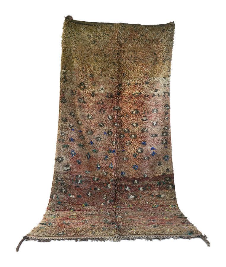 Beni Mguild berber tapijt Apricot Trotters