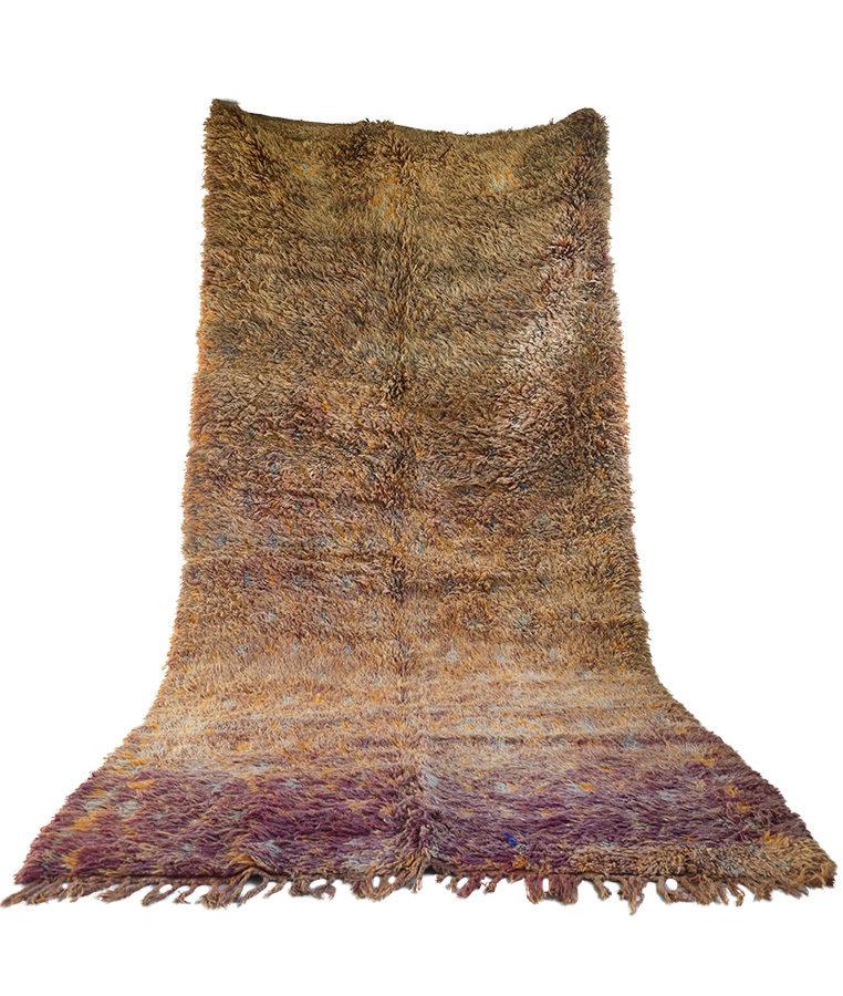 Beni Mguild berber tapijt papaya pulverizer