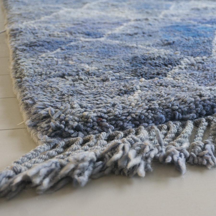Beni Mrirt berber tapijt Vainly Navy