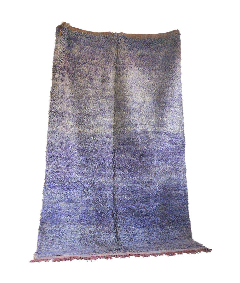 Beni Mguild berber tapijt Violets are Blue