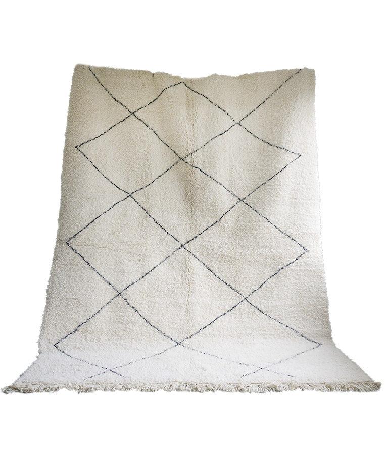 Beni Ouarain berber tapijt Mouassine