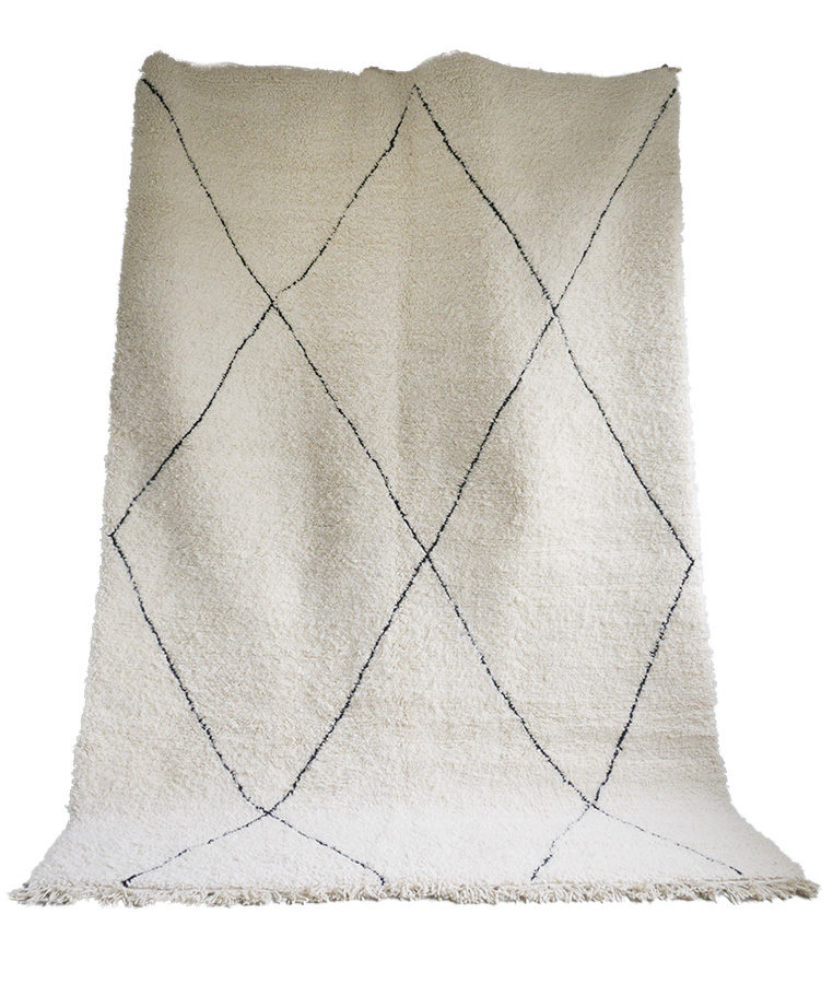 Beni Ouarain berber tapijt Oasis