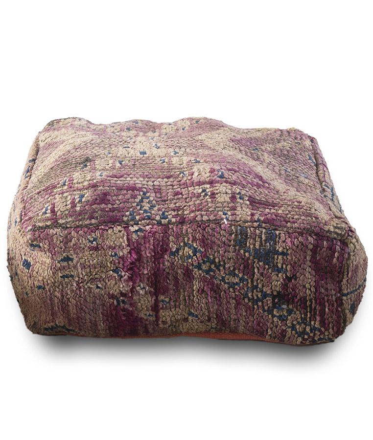 vintage berber poef